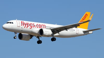 A picture of TCNBJ - Airbus A320251N - Pegasus Airlines - © Alberto Cucini