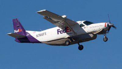 N746FX - Cessna 208B Super Cargomaster - FedEx Feeder (Empire Airlines)