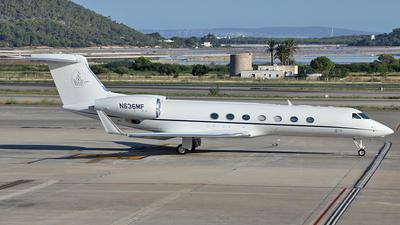 N636MF - Gulfstream G550 - Private