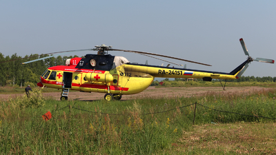 RA-24151 - Mil Mi-8AMT Hip - NAMS - National Air Medical Service (NSSA)