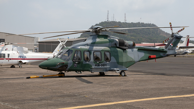 AN-001 - Agusta-Westland AW-139 - Panama - Servicio Nacional Aeronaval