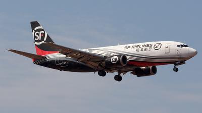 B-2877 - Boeing 737-33V(SF) - SF Airlines