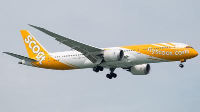 9V-OJF - Boeing 787-9 Dreamliner - Scoot