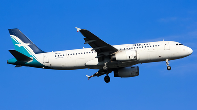 9V-SLI - Airbus A320-233 - SilkAir
