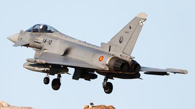 C.16-45 - Eurofighter Typhoon EF2000 - Spain - Air Force