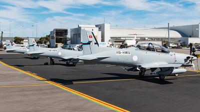 A picture of HBHWU - Pilatus PC21 - Pilatus Flugzeugwerke - © Andrew Lesty