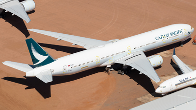 A picture of BHNW - Boeing 77731H - Cathay Pacific - © Mitch Coad