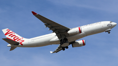 A picture of VHXFE - Airbus A330243 - Virgin Australia - © Robbie Mathieson