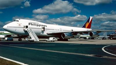 N744PR - Boeing 747-2F6B - Philippine Airlines