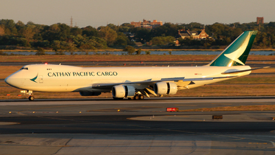 B-LJG - Boeing 747-867F - Cathay Pacific Cargo