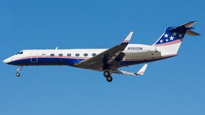 N560DM - Gulfstream G550 - Private