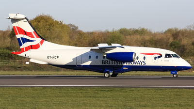 OY-NCP - Dornier Do-328-300 Jet - British Airways (Sun-Air)
