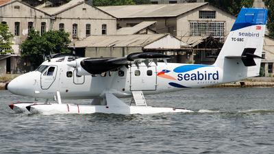TC-SBC - De Havilland Canada DHC-6-300 Twin Otter - Seabird Airlines