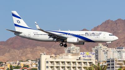 4X-EKU - Boeing 737-8Z9 - El Al Israel Airlines