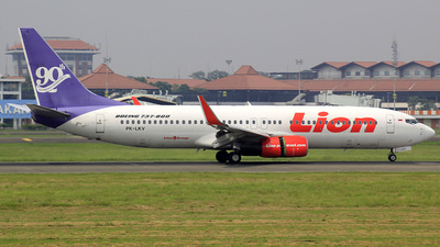 PK-LKV - Boeing 737-8GP - Lion Air
