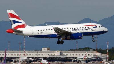 A picture of GEUPN - Airbus A319131 - British Airways - © Riccardo Balbo