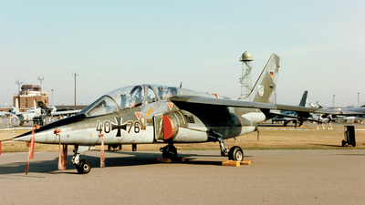 40-76 - Dassault-Breguet-Dornier Alpha Jet A - Germany - Air Force