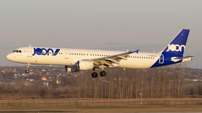 F-GTAK - Airbus A321-211 - Joon