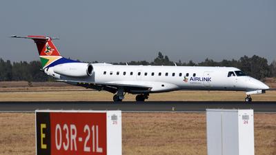 ZS-ALU - Embraer ERJ-140LR - Airlink