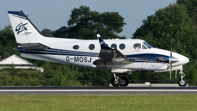 G-MOSJ - Beechcraft C90GTx King Air - Private