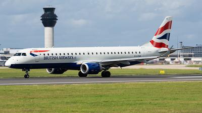 G-LCAA - Embraer 190-100LR - BA CityFlyer