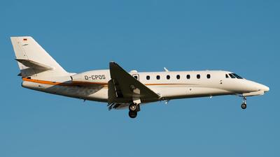 D-CPOS - Cessna 680 Citation Sovereign Plus - Private