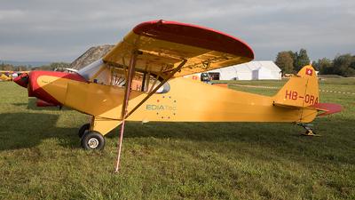 A picture of HBORA - Piper PA18 150 Super Cub - [187049] - © Alex