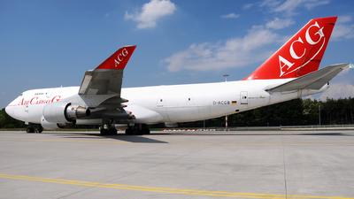D-ACGB - Boeing 747-409(BDSF) - Air Cargo Germany