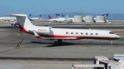 N551TG - Gulfstream G550 - Private
