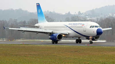 EP-AJC - Airbus A320-232 - Iran - Government