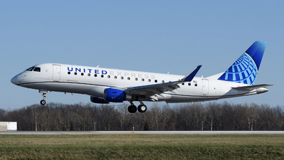 A picture of N609UX - Embraer E175LL - United Airlines - © DJ Reed - OPShots Photo Team