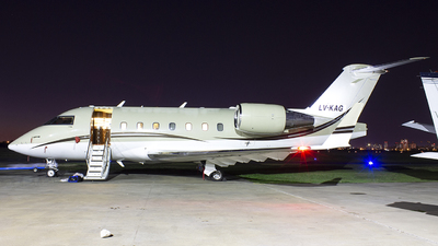 A picture of LVKAG - Bombardier Challenger 604 - [5514] - © Ezequiel Catalano