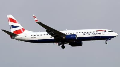 ZS-ZWZ - Boeing 737-8KN - British Airways (Comair)