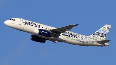 N598JB - Airbus A320-232 - jetBlue Airways