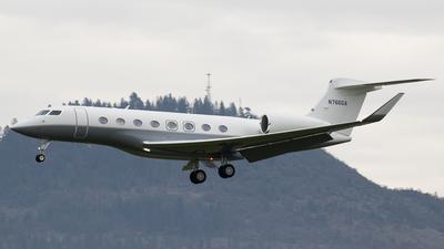 N766GA - Gulfstream G650ER - Private