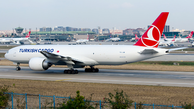 TC-LJN - Boeing 777-FF2 - Turkish Airlines Cargo