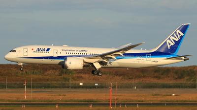 A picture of JA822A - Boeing 7878 Dreamliner - All Nippon Airways - © TREKER-Anakin_Z