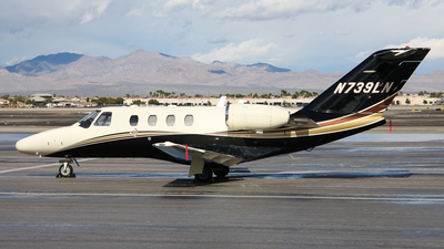 N739LN - Cessna 525 Citationjet CJ1 - Private