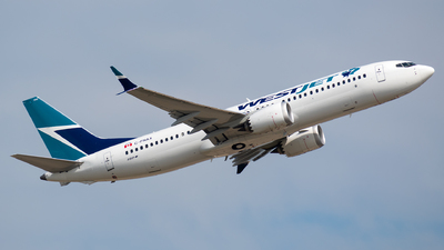 C-FNAX - Boeing 737-8 MAX - WestJet Airlines