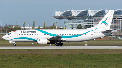 A picture of TCTLD - Boeing 7374Q8 - Tailwind Airlines - © Thomas Ernst