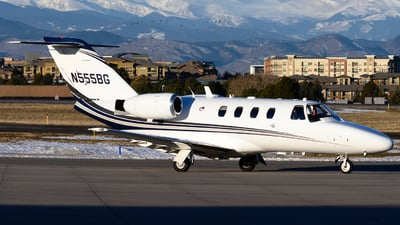 N555BG - Cessna 525 CitationJet - Private