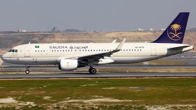 HZ-AS72 - Airbus A320-214 - Saudi Arabian Airlines