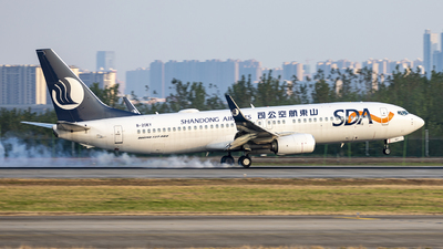 B-20EY - Boeing 737-8JP - Shandong Airlines