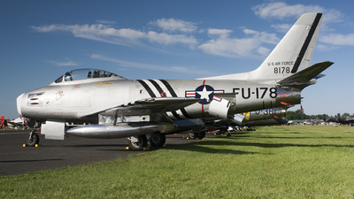 N48178 - North American F-86A Sabre - Private