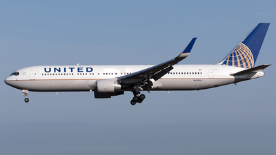 A picture of N658UA - Boeing 767322(ER) - United Airlines - © Maximilian Haertl