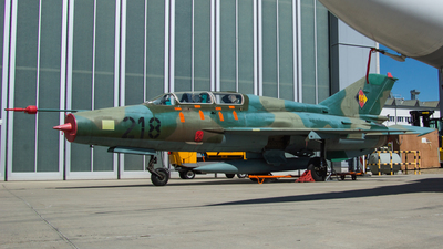 218 - Mikoyan-Gurevich MiG-21US Mongol B - German Democratic Republic - Air Force