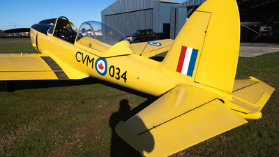 ZK-CVM - De Havilland Canada DHC-1 Chipmunk - Private