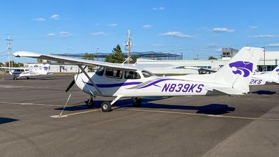 N839KS - Cessna 172S Skyhawk SP - Kansas State University