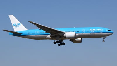 PH-BQN - Boeing 777-206(ER) - KLM Royal Dutch Airlines