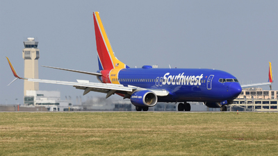 A picture of N8694E - Boeing 7378H4 - Southwest Airlines - © DJ Reed - OPShots Photo Team